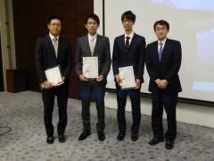 左から塩野谷洋輔氏,佐藤彰記氏,嶋田浩志氏,西川祐司会長.